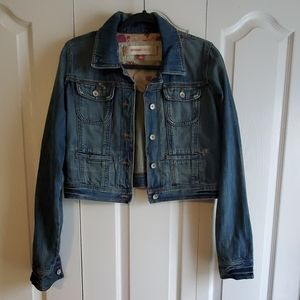 Mossimo Denim Cropped Jacket XL